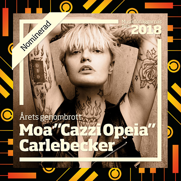 Cazzi Opea - Musikforleggerprisen 2018